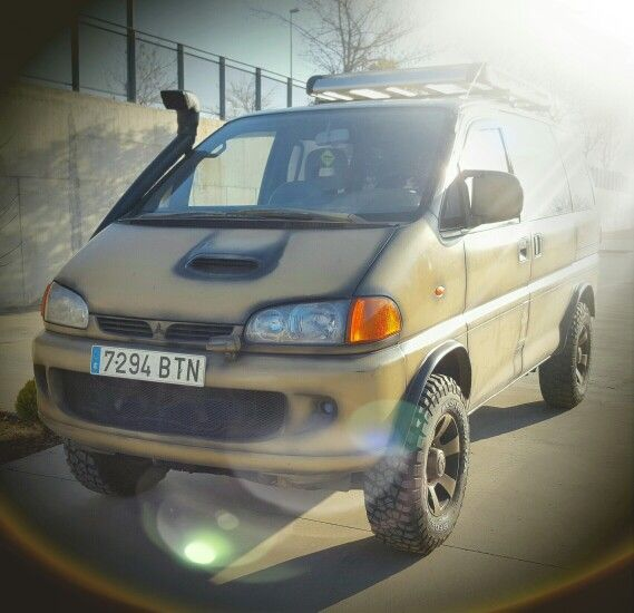 Mitsubishi Delica 4x4 Camper Elevating: 72 Best Images About Mitsubishi Delica Space Gear On