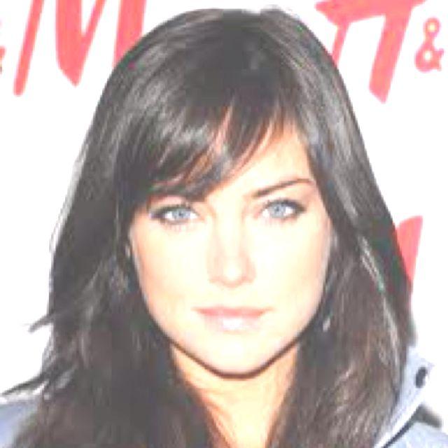 .Hair Ideas, Hair Colors, Dark Hair, Long Hair, Hair Cut, Side Bangs, Hair Bangs, Hair Style, Jessica Stroup