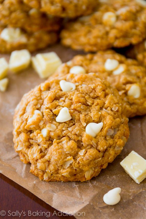 Biscoff Pumpkin Oatmeal Cookies Recipe — Dishmaps