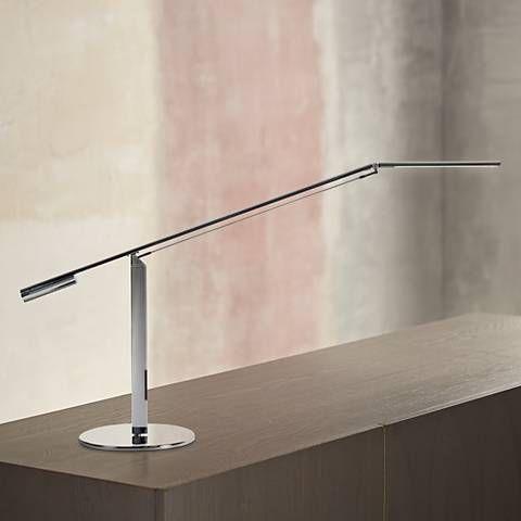 bed room 2 - Koncept Gen 3 Equo Warm Light LED Desk Lamp in Chrome