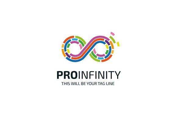 Pro Infinity Logo by Mudassir101 on @creativemarket
