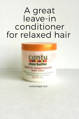 See why Cantu Shea Butter Leave-in Conditioning Repair Cream is a part of my relaxed hair regimen. | arelaxedgal.com