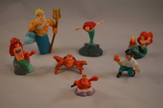 Vintage Little Mermaid Some Bullyland PVC by FloridaFindersToys