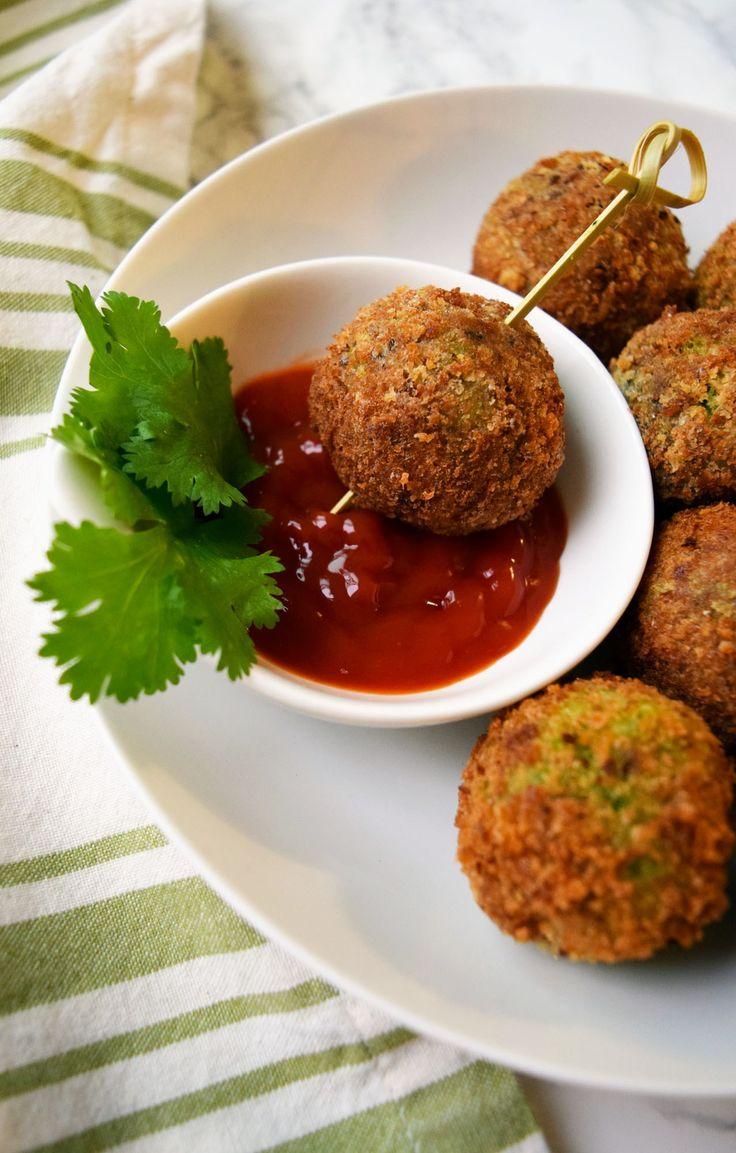 no fry veg hariyali kebabs (healthier version)