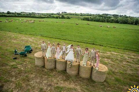 wedding on the farm