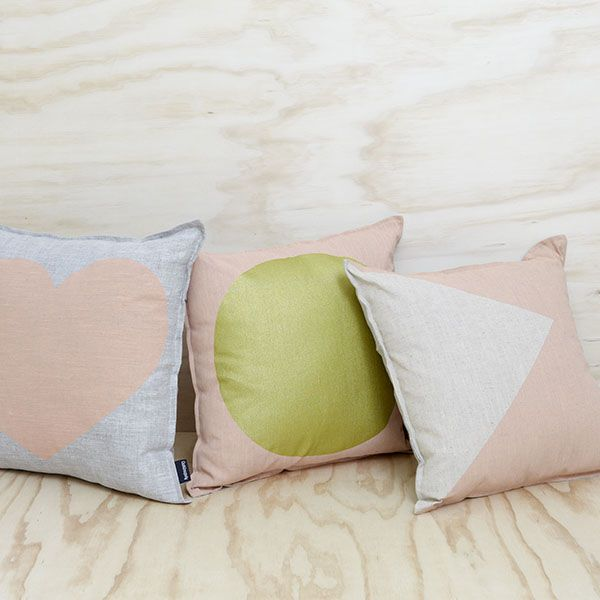 Peach hues from the One Happy day collection from Cushionopoly
