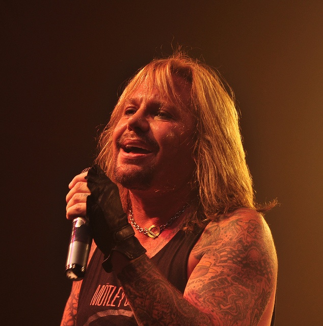 Vince Neil on tour in Winchester VA