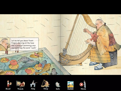 Enter the fantastical world of Cajun musician, old man Joe in old Kyoto! Our good friend, Joe and his bride spend Sunday afternoons jamming with worldly friends and sipping tea. Written by Gilles Vigneault and illustrated by Stéphane Jorisch. Available as a picture book-CD, e-book and app.