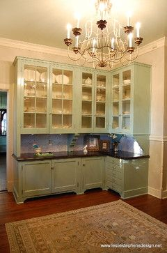 Richmond Symphony Designer Showhouse - traditional - kitchen - richmond - Leslie Stephens Design