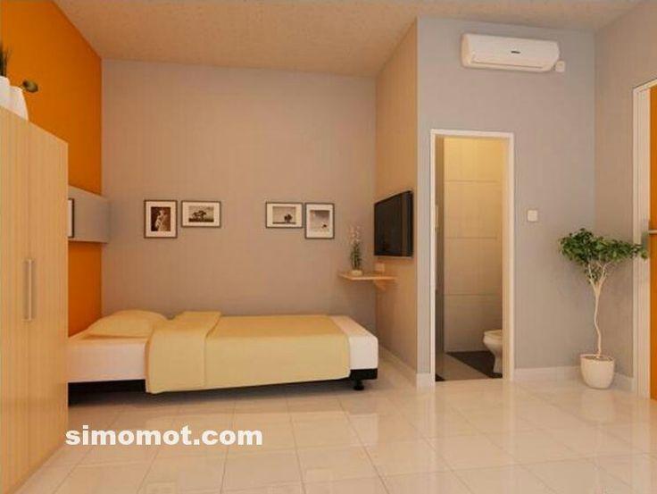 Kamar Tidur Minimalis dengan Kamar Mandi