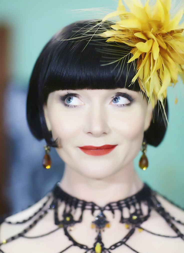 The very top of the dress  Join our stylish lady sleuth for an evening of crime solving and couture TONIGHT 8.30pm on ABC1. Trailer: http://youtu.be/kPgVL7SeVbo #MissFisher #PhryneFisher #EssieDavis #fashion #style #vintagefashion #costume #couture #headpiece #1920s