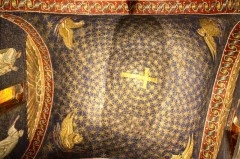 See the Mausoleum of Galla Placidia in Ravenna - a tomb for one of the most remarkable women from the Late Antiquity period and the loveliest starry sky ever produced?