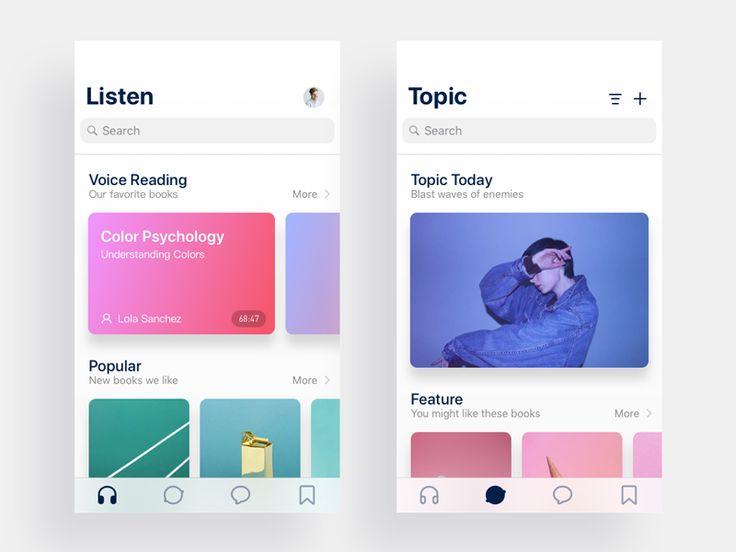 Books App Listen Page