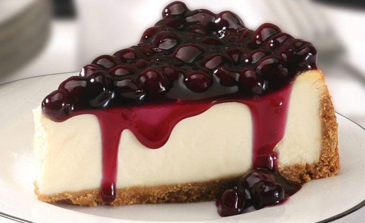 Rýchly svieži cheesecake s ríbezľami - Báječné recepty