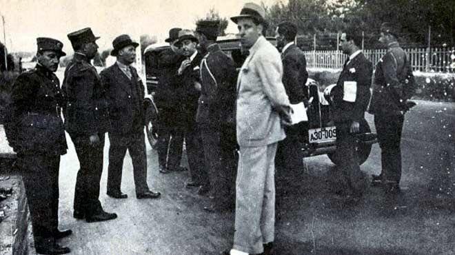 σκηνή από την απόπειρα δολοφονίας του ελευθέριου Βενιζέλου την επόμενη 7/6/1933