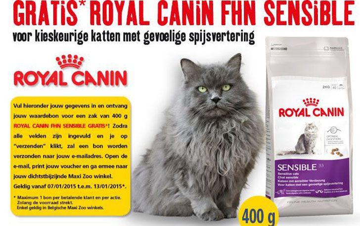 Ontvang Nu Een Zak Gratis Kattenvoeding Van Royal Canin In Alle Winkels Van Maxi Zoo !!! Wees er wel snel bij want de actie is slecht geldig tot 13 januari en zolang de voorraad strekt. En de acties van Maxi Zoo zijn altijd heel populair. Meer info >> http://gratisprijzenwinnen.be/gratis-producten/gratis-kattenvoeding-van-royal-canin-bij-maxi-zoo/  #gratis #katten #dieren #korting #kattenvoeding