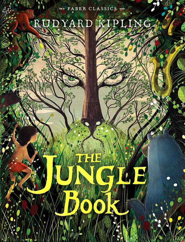Image result for the jungle book classic book cover