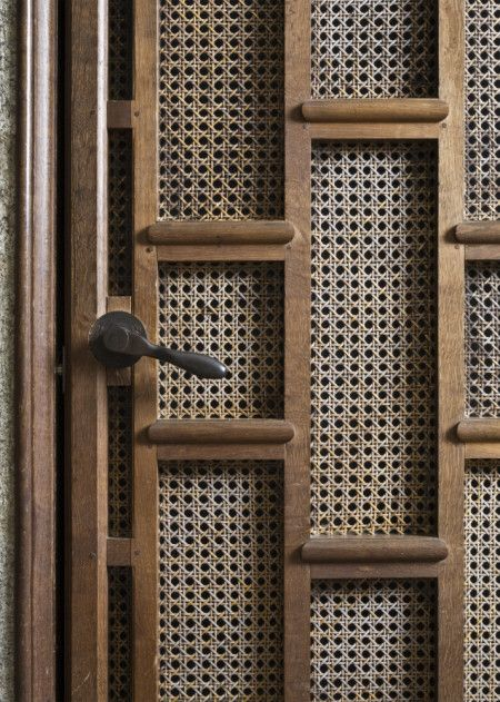 Lutyens /   Detail of the Lutyens-designed lift door at Castle Drogo. ©National Trust Images/John Hammond