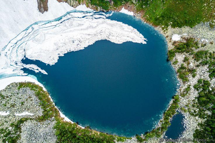 Хребет Скалистые горы, Кузнецкий Алатау - Красноярск с высоты и кое-что еще ...