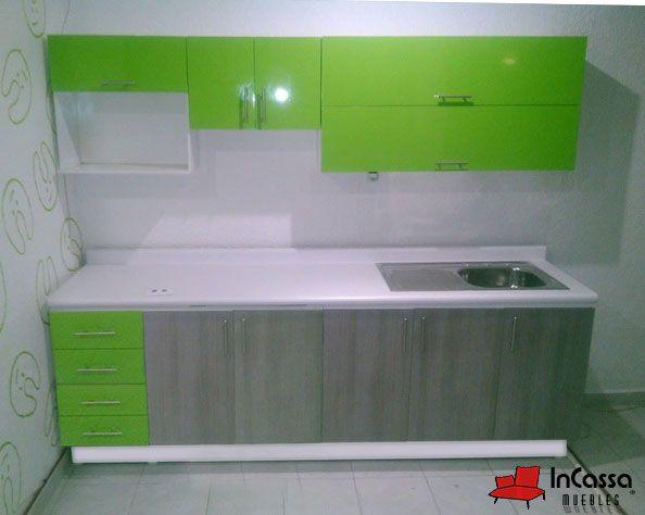 Cocina Mod. HAWAI 2.40m. PRECIO: Diseñada para PARRILLA $8,990 / / / Diseñada para ESTUFA $6,990.