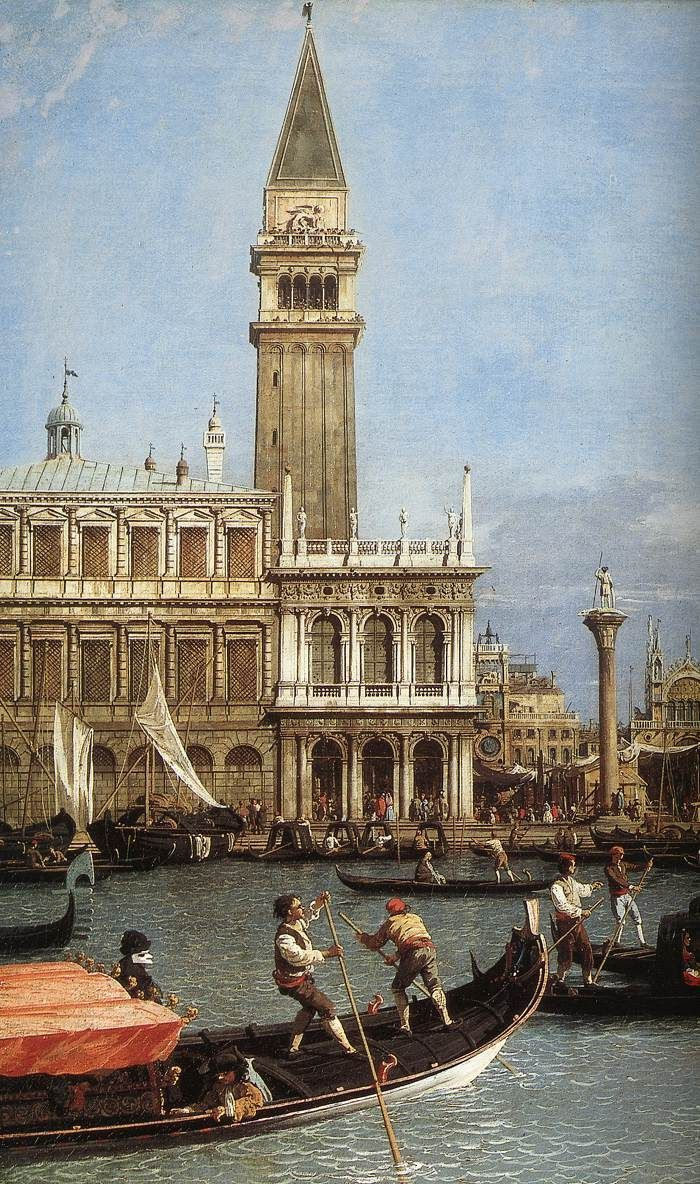 """Return of the Bucentoro to the Molo on Ascension Day (detail),  by CANALETTO.  Art Experience NYC  www.artexperiencenyc.com/social_login/?utm_source=pinterest_medium=pins_content=pinterest_pins_campaign=pinterest_initial"