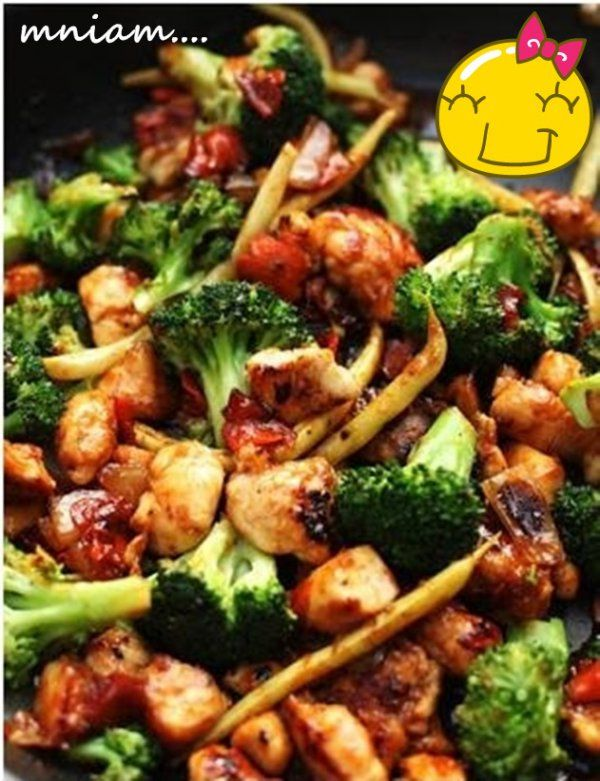 Kurczak z warzywami w 15 minut :) Proste i smaczne♥