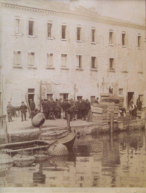 Венеция 1860-1870-х Карло Найя и Карло Понти