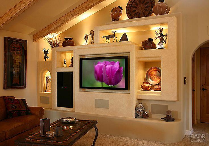 Custom Home Media Wall Design Portfolio – DAGR Design | DAGR Design