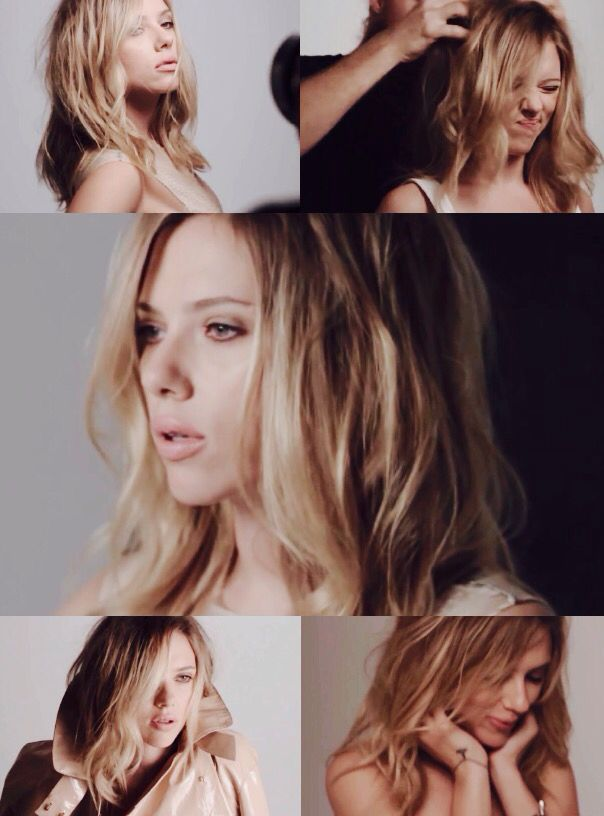 Scarlett Johansson for ELLE UK 2013 photoshoot