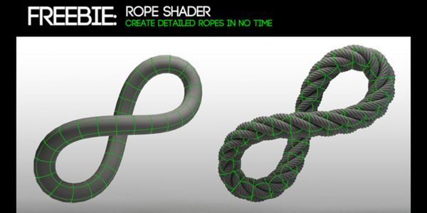 how to create a rope in cinema 4d
