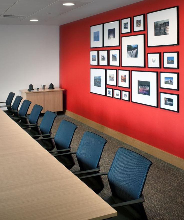 Оформление фото в офисе