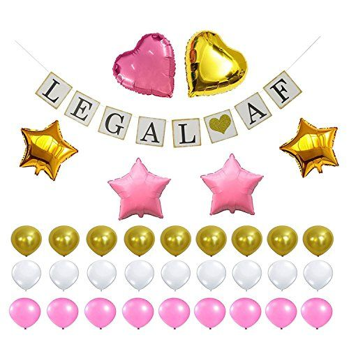 http://picxania.com/wp-content/uploads/2017/08/21st-birthday-party-decorations-kit-21st-birthday-party-supplies-favors-vintage-legal-af-happy-birthday-banner-gold-pink-balloons-pack-perfect-for-boy-girl-21-years-old-cele.jpg - http://picxania.com/21st-birthday-party-decorations-kit-21st-birthday-party-supplies-favors-vintage-legal-af-happy-birthday-banner-gold-pink-balloons-pack-perfect-for-boy-girl-21-years-old-cele/ - 21st Birthday Party Decorations Kit - 21st Birthday Part