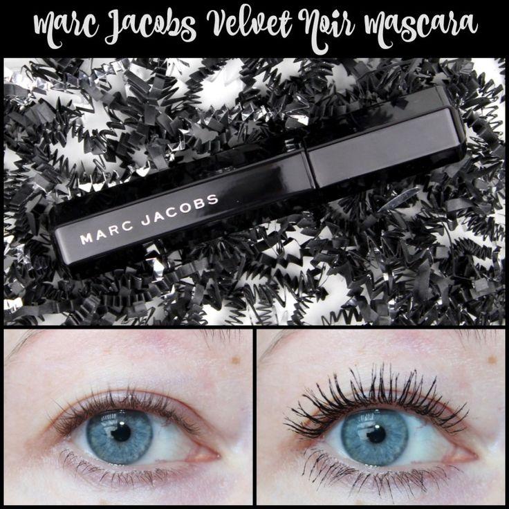 Marc Jacobs Velvet Noir Major Volume Mascara Review | It Really Looks Like Falsies!