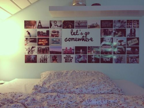 Let's go somewhere photography room decor pictures bed white walls