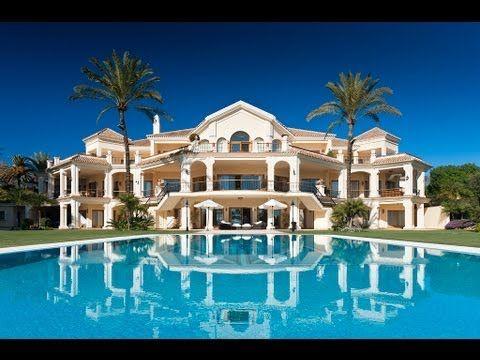 Frontline beach luxury mansion in the marbella club marbella favorite places spaces - Luxury homes marbella ...