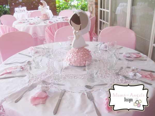 first communion centerpieces ideas for tables | first communion