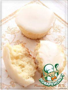"Капкейки ""Молочный шелк"" - кулинарный рецепт"