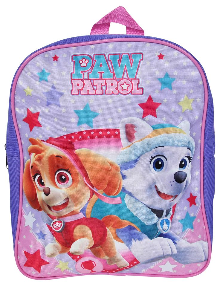 "Paw Patrol Skye Everest Girls Mini Backpack 12"""