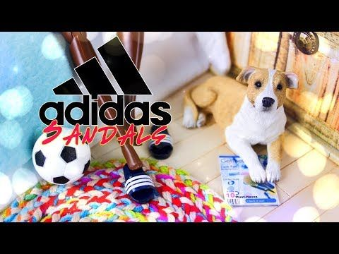 9ee7ec474 (20) DIY - How to Make  Doll Adidas Sandals