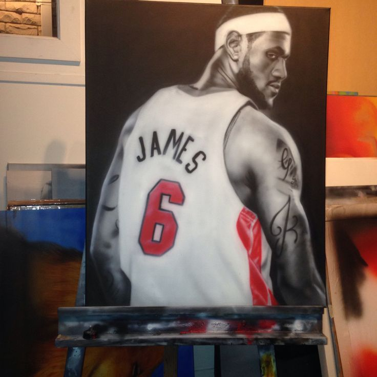 My lebron James painting