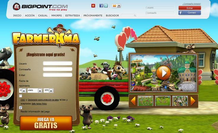 El juego de granjas online más disparatado del mundo: ¡FARMERAMA! Cultiva frutas y verduras, cría ganado y pon en marcha el tractor... ¡Juega ya!