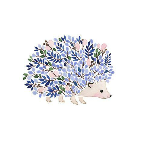 Caché sous les feuilles - Les Broderies de Sophie