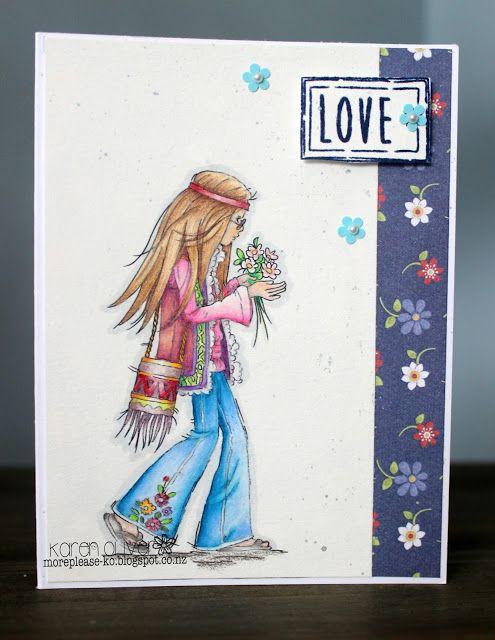 LOTV - Hippy Chick by Karen Oliver