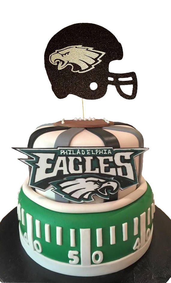PHILADELPHIA EAGLES  Football  Football Cake Topper Super