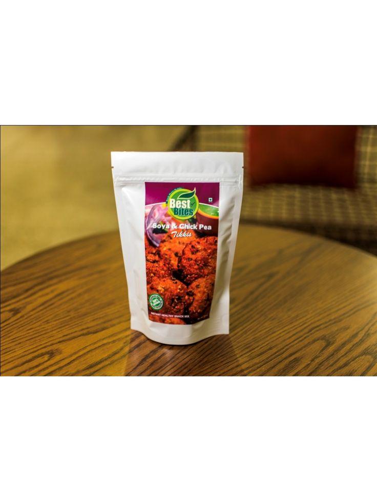 Soya Chickpea Tikki (200 gms) Buy here: http://www.vegalyfe.com/soya-chickpea-tikki.html