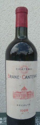 1928 Chateau Brane Cantenac – 1 bottle