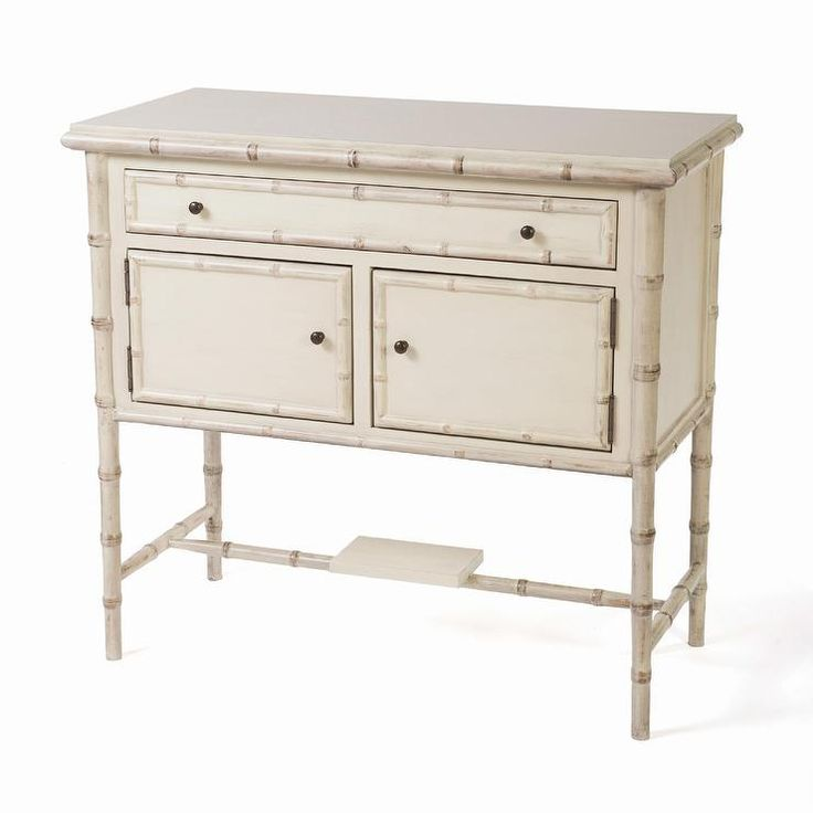 Heather Brooke Tinaga Pearly Oyster Accent Chest