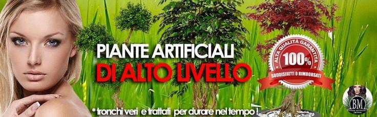 Piante Artificiali ALTO LIVELLO - StoreBM - The Best Artificial Plants