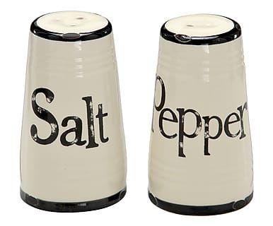 Jogo de Saleiro e Pimenteiro Salt Pepper