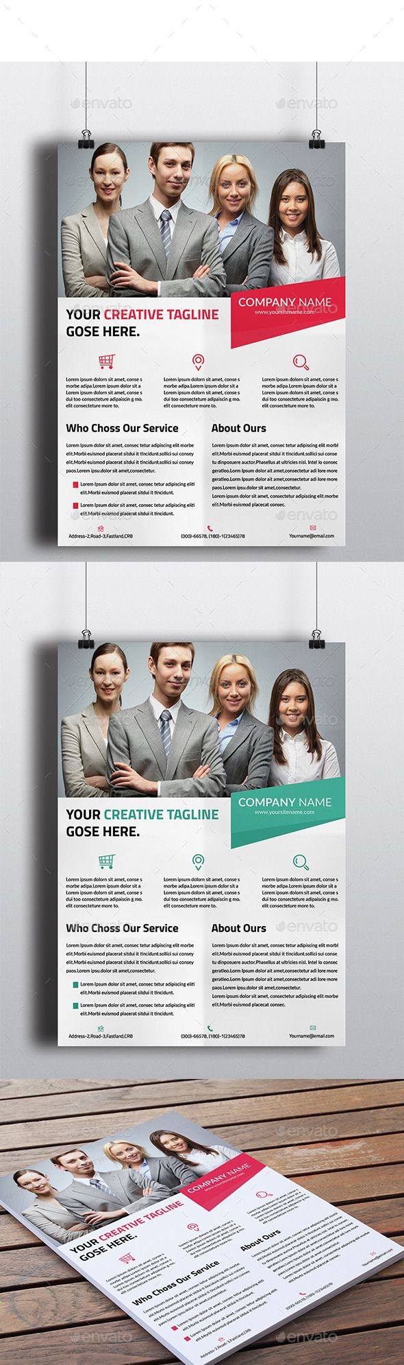 Corporate Flyer V4 - Corporate Flyers
